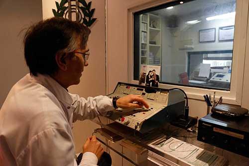 Gabinete para examen de audición y audífonos en Santa Otilia, Huelva