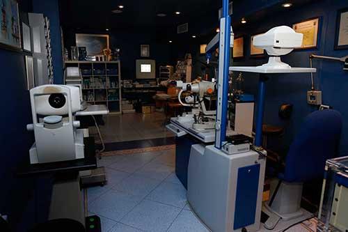Gabinete Control de Visión en Óptica Santa Otilia, Huelva