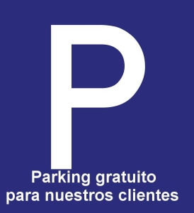 Parking Gratis para nuestros clientes