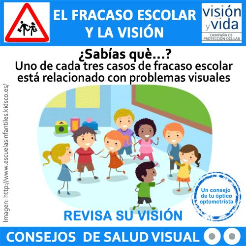 Campaña visión y vida: Fracaso escolar y visión.
