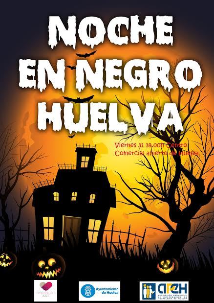 Noche en Negro en Huelva