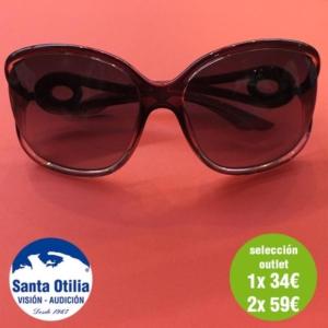Gafas de sol, selección outlet oferta 1 x 34 euros 2 x 59 euros