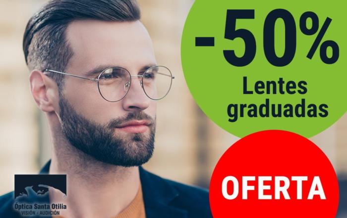 Lentes graduadas al 50%