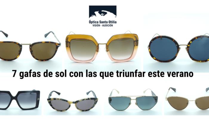 7 gafas de sol con las que triunfar este verano