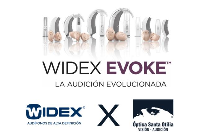 Santa Otilia te trae lo último en audífonos: Widex Evoke, el primer audífono con Machine Learning