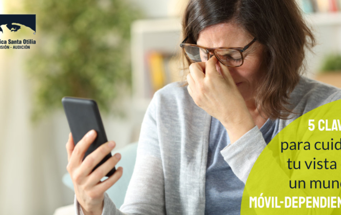 """Cinco claves para que tu vista sobreviva en un mundo """"móvil-dependiente"""""""