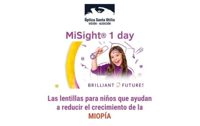 MiSight® 1 day, las lentes de contacto desechables que ralentizan la miopía infantil